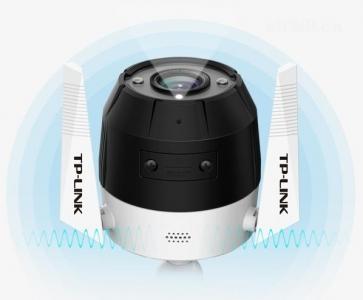 TP-li<x>nk室外监控摄像头300万像素